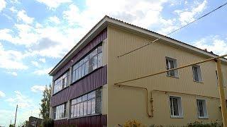 Дом в посёлке Коммунар снова трещит по швам