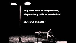 Pablo Hasél,,, Como frases de Bertolt Brecht  (prod. Marc hijo de sam)