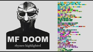 Cover images MF DOOM - That's That - Lyrics, Rhymes Highlighted (052)