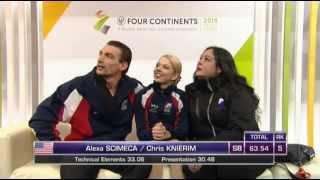 2015 4CC - Alexa Scimeca / Chris Knierim SP
