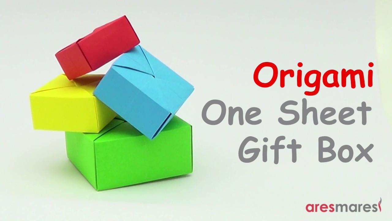 How to Fold a Traditional Origami Box - Masu Box | 720x1280