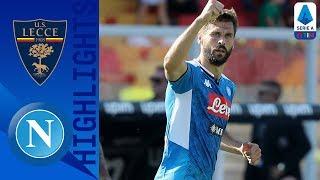 Lecce 1-4 Napoli | Llorente Shines As Napoli Breeze Past Lecce | Serie A