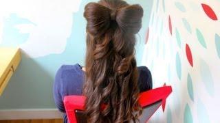 HAIR BOW TUTORIAL! Thumbnail