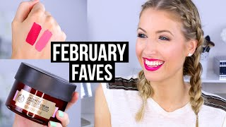 FEBRUARY FAVORITES 2016 || New Makeup & Skincare I