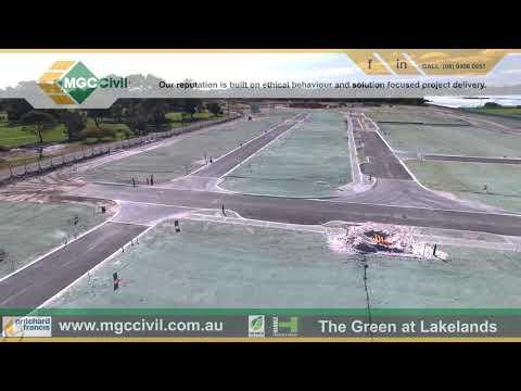 MGC Civil Drone Footage At The Green Lakelands Western Australia 22/8/2018