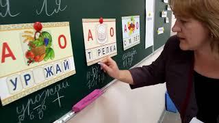Смарт урок русского языка учительницы средней школы села Касымбек