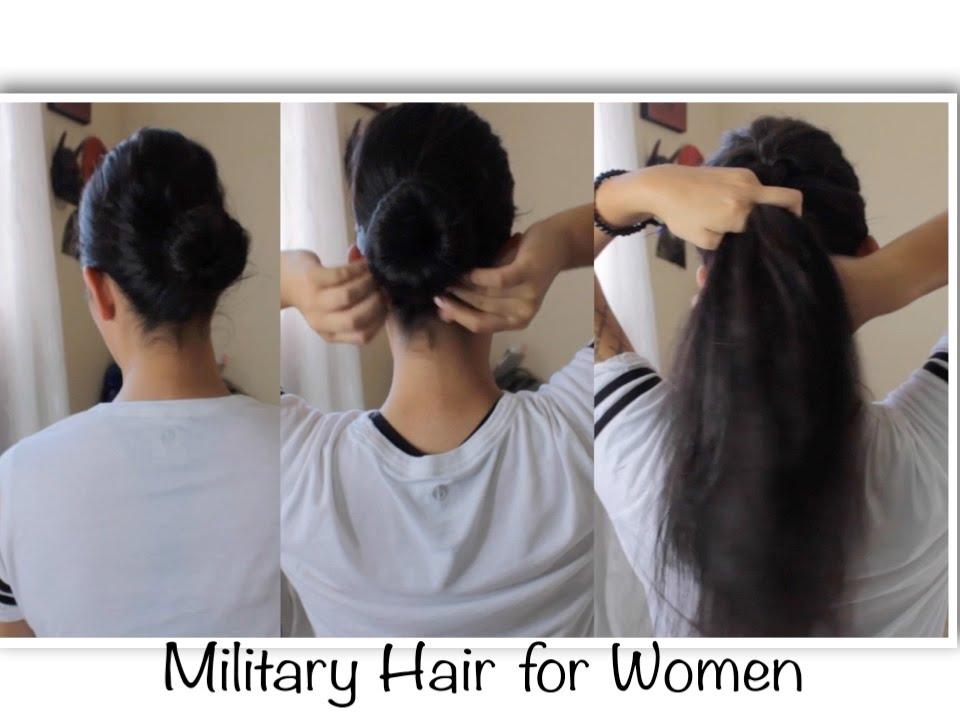 Military Hairstyles For Women