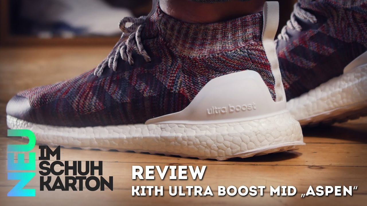 best sneakers 60934 337c3 Kith x Adidas Ultra Boost Mid