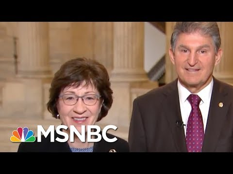 Senators Susan Collins And Joe Manachin, From Both Sides, Find Common Ground | Morning Joe | MSNBC