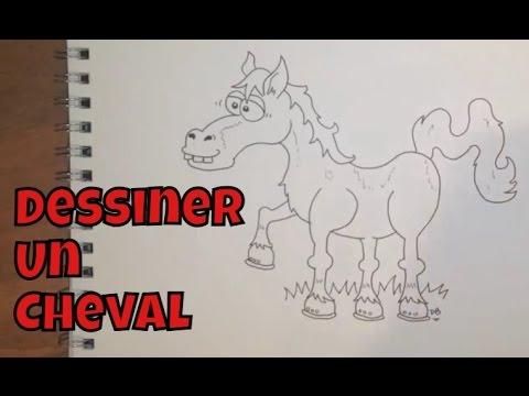 Comment dessiner un cheval facile tape par tape - Cheval a dessiner facile ...