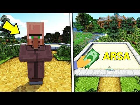 FAKİR YENİ ARSA İÇİN PARA BİRİKTİRİYOR !! 😱 - Minecraft