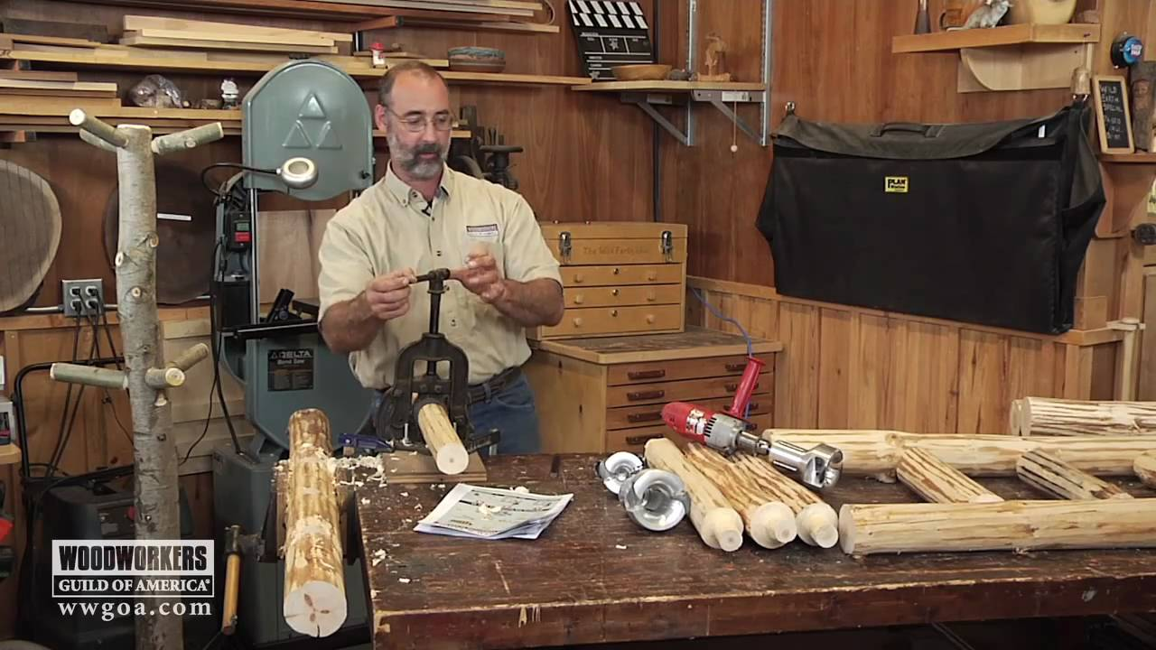 Woodworking project tips making rustic furniture the basics youtube - How to make rustic wood furniture ...