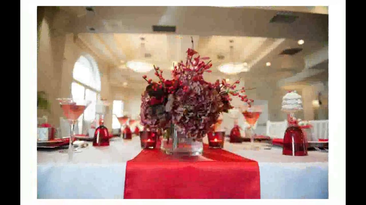 Decorating Ideas > Christmas Table Decorations Ideas  YouTube ~ 034245_Christmas Decoration For A Table