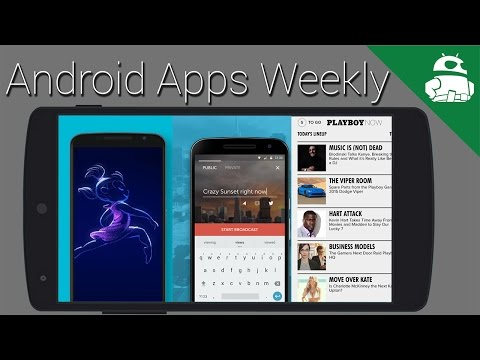 Microsoft all the things, Periscope released on Android, Playboy has an app! - Android Apps Weekly