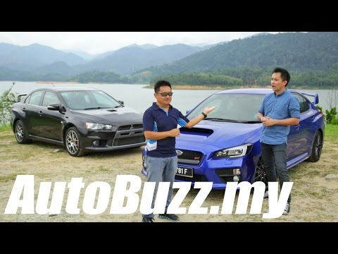 2015 Subaru WRX STI review (vs EVO X) - AutoBuzz.my