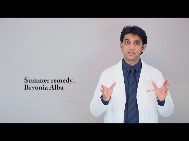Bryonia the Homeopathic drug picture by Dr Ravi Doctor & Studio Homeopathy