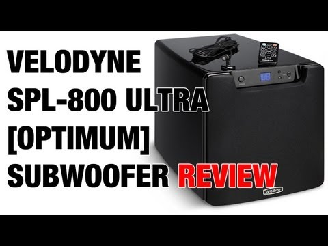 Velodyne SPL-800 Ultra ( Optimum-8 ) Subwoofer Review