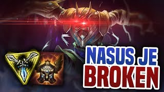 Nasus je broken! - League of Legends
