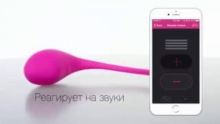 Виброяйцо c приложением, для пар и вебкам моделей Lush Bullet Vibrator Lovense