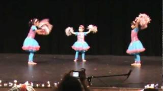 Sinchana, Gauri and Vidya Dance