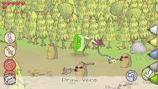 Draw A Stickman: Epic 2- Walkthrough Level 4- A Town in Need