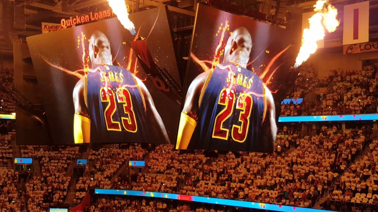 65b6a5378 Cleveland Cavs Playoff Introductions - YouTube