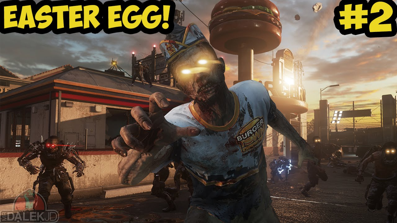 Advanced Warfare Exo Zombies Infection Full Easter Egg Live Finale Call Of Duty Exo Zombies