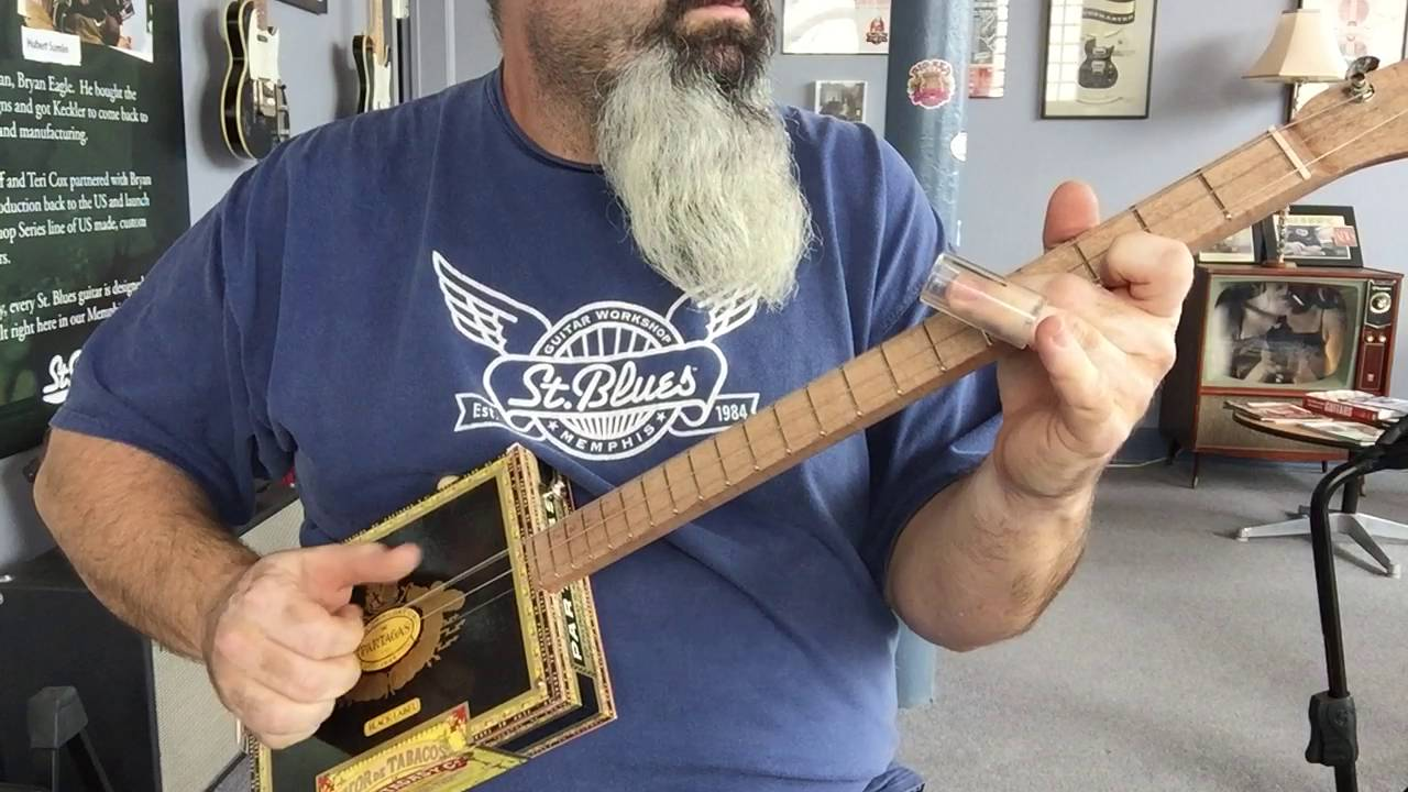 3 string cigar box guitar st blues demo youtube. Black Bedroom Furniture Sets. Home Design Ideas