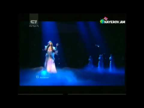 Eurovision 2012 Azerbaijan in Armenian TV