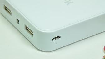 Trên tay Sạc dự phòng Yoobao 10400mah YB-6024 2 cổng USB - Đồ Chơi Di Động .com