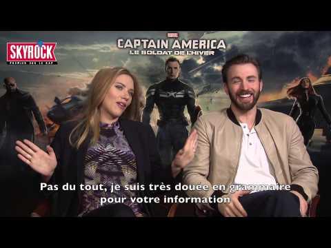 Scarlett Johansson aimerait être Beyoncé ! [interview Captain America VOSTFR]