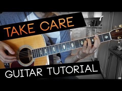 """""""take care"""" Guitar Tutorial - EDEN (WITH CHORDS)"""