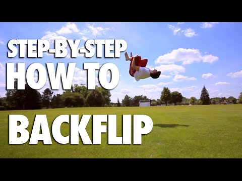 How To Backflip - Tutorial