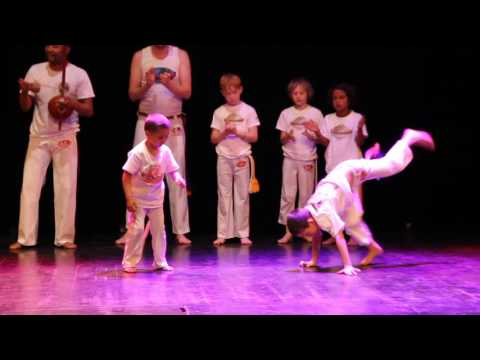 Capoeira performance at the Dance Kids...