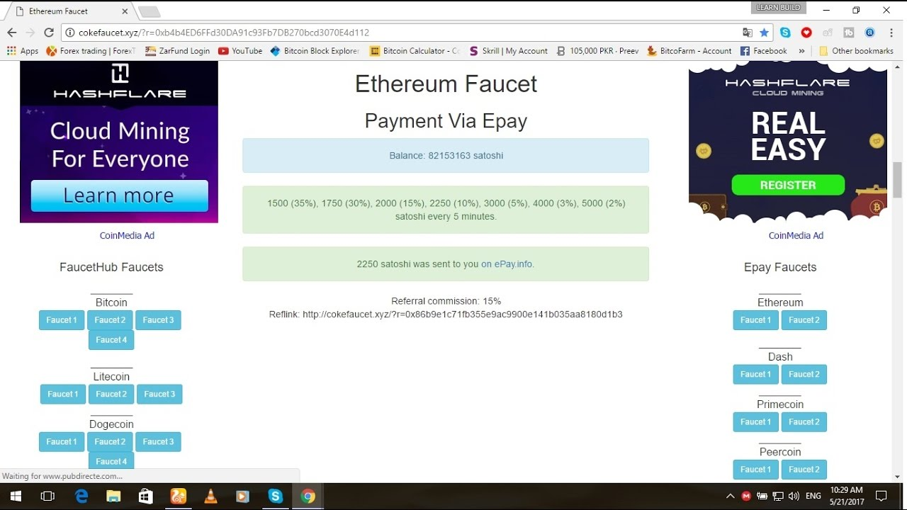 how to earn free 25000 eth every 5 mint without investment live working proof youtube. Black Bedroom Furniture Sets. Home Design Ideas