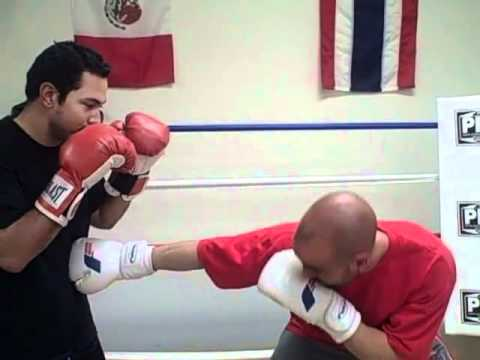 Advanced Boxing: Proper way to protect yourself while throwing jab to the body