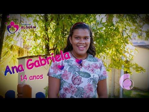 ENCONTRAR ALGUÉM - ANA GABRIELA