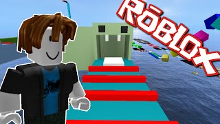 RAINBOW MEGA OBSTACLE COURSE!! Roblox