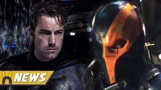 Dceu deathstroke revealed, to be batman solo film villain!
