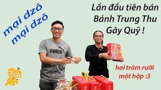 Tập tành bán Bánh Trung Thu nhà làm Gây Quỹ Từ Thiện - Xe Ôm Vlog