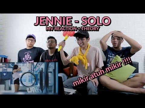 'TITISAN AVATAR AANG DENGAN APPA MEKANIK' | JENNIE - SOLO MV REACTION (BONUS TEORI)