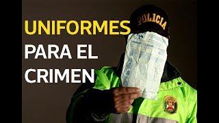 Uniformes para el crimen   El Comercio