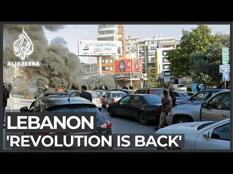 Lebanon protesters regroup for 'week of anger'
