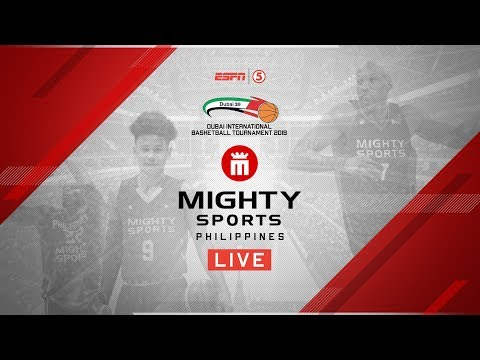 Mighty Sports vs. UAE National Team | 2019 Dubai International Basketball Championship
