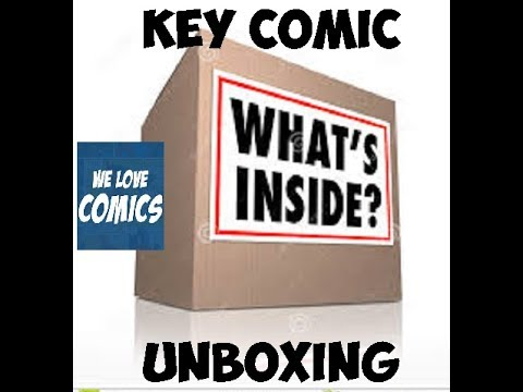 4 Fantastic major key issues in this unboxing .