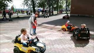 Прокат электромобилей, веломобилей, гироскутеров в Сыктывкаре.