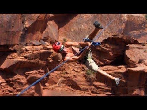 Extreme Highlining - Insane Heights!!! | DEVINSUPERTRAMP