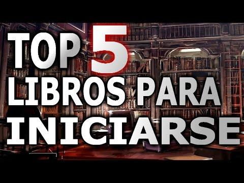 TOP 5 LIBROS PARA INCIARSE EN LA LECTURA