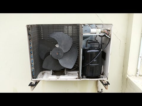 Cleaning O General A/c  1.5 Ton outdoor unit