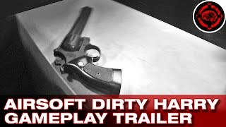 Airsoft Dirty Harry Revolver Gameplay Trailer